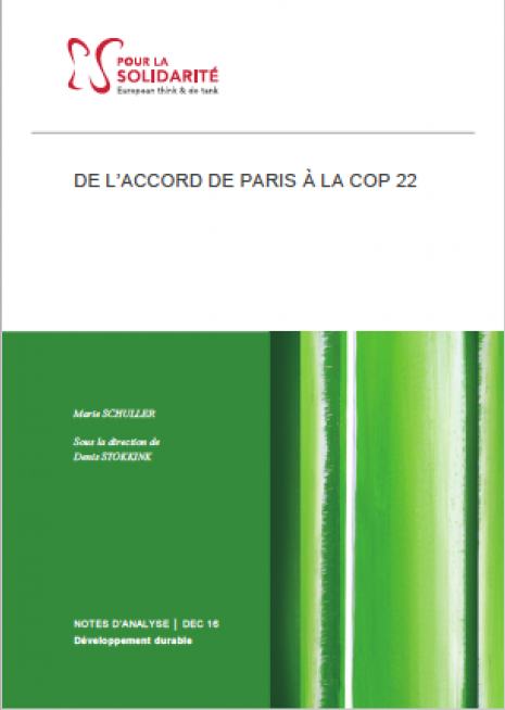 Accord de Paris Cop 22