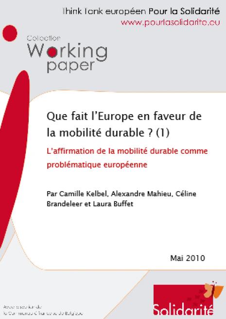 image capture Que fait l'Europe en faveur de la mobilité durable ?