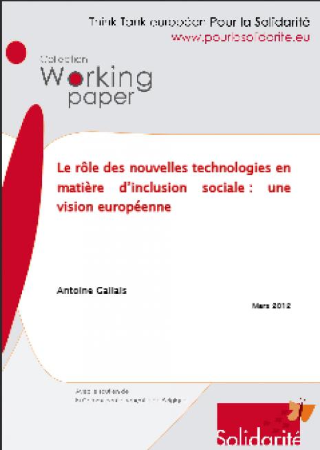 image couverture role des nouvelles technologies dans inclusion sociale
