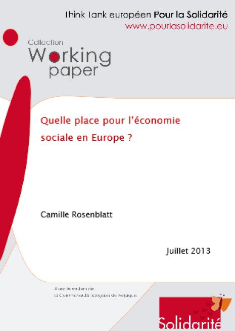 image couverture place économie sociale europe