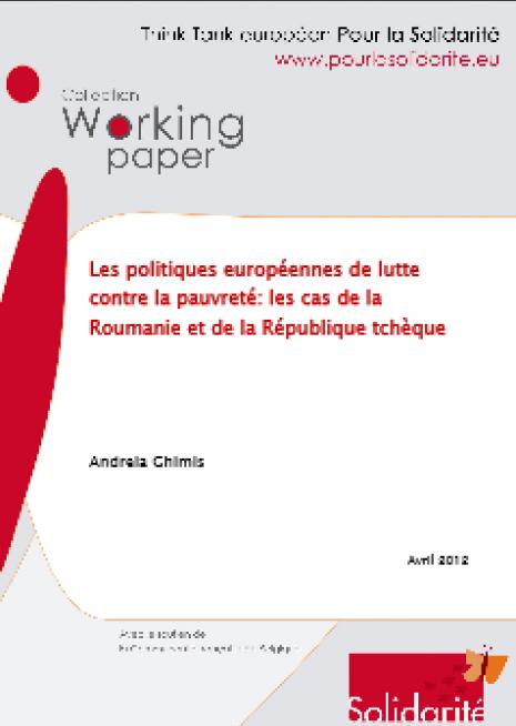 image couverture Les politiques européennes de lutte contre la pauvreté : les cas de la Roumanie et de la République tchèque