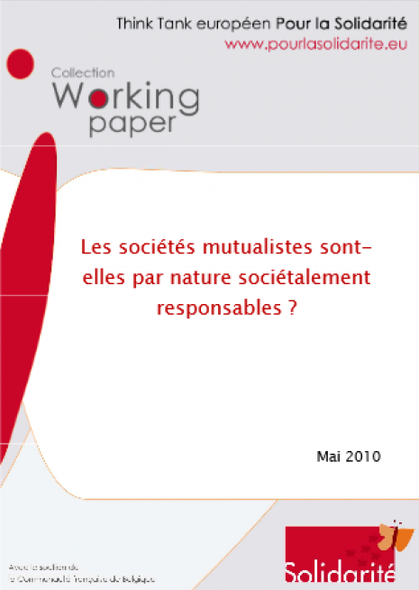 image couverture Les sociétés mutualistes sont- elles par nature sociétalement responsables ?