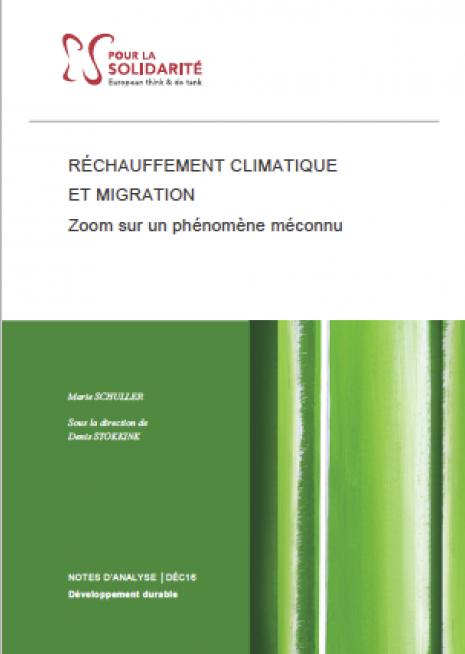 Réchauffement climatique et migration