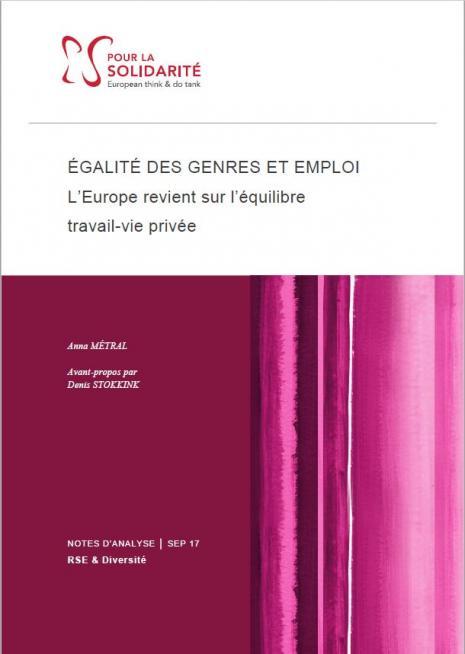 Socle européen, travail, vie privée, genre, emploi
