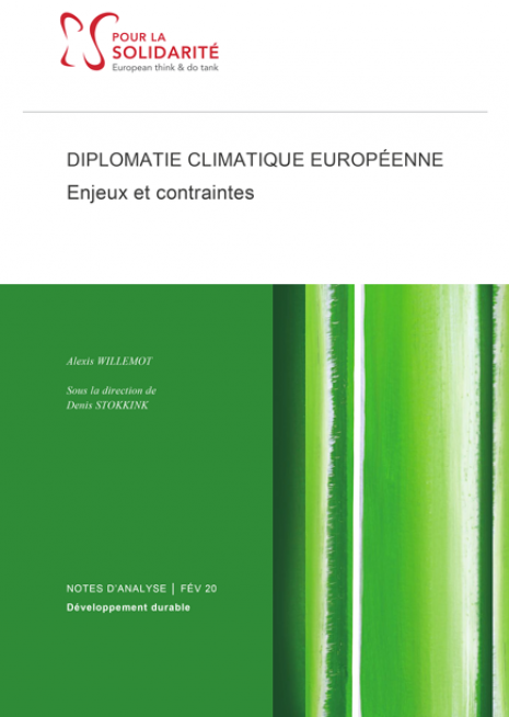 Diplomatie climatique européenne - Enjeux et perspectives